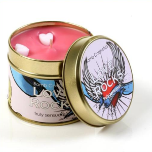 Love Rocks Tin Candle
