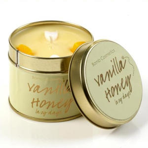 Vanilla Honey Tin Candle