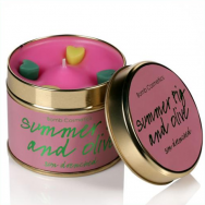 Summer Fig & Olive Tin Candle
