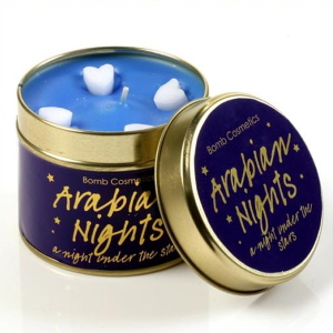 Arabian Nights Tin Candle